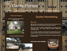 Tablet Preview of garzahomes.net